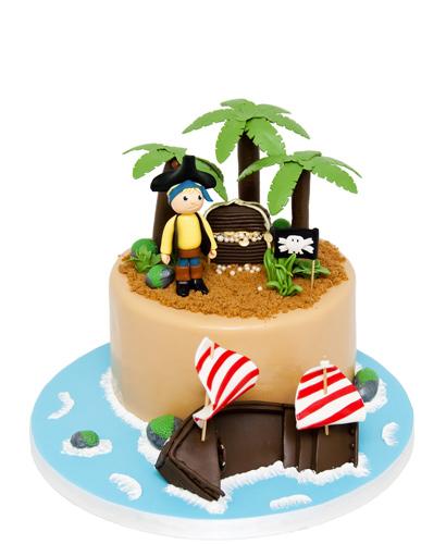 Fødselsdagskage til børn